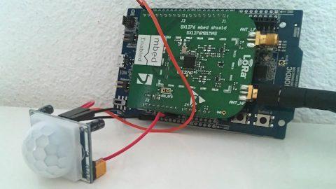 Mbed LoRaWAN Motion Sensor