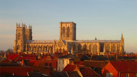 York Minster, by Wikimedia Commons user MatzeTrier