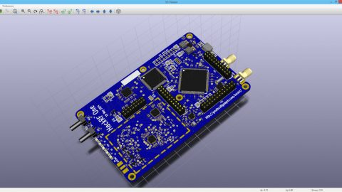 KiCad 3D Viewer