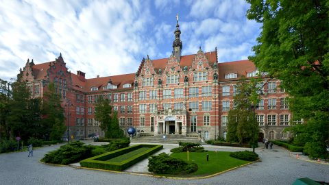 Gdansk University of Technology, by Krzysztof Krzempek (CC-BY-SA 3.0)
