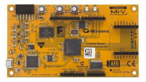 Microsemi CreativeBoard FPGA development board