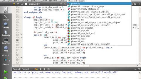 VerilogCreator Screenshot