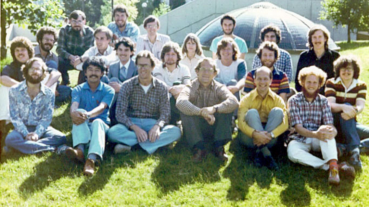 Berkeley RISC Project Group Photo