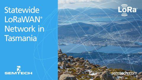 Semtech LoRaWAN Tasmanian Network